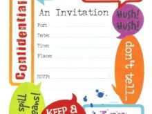 66 Printable Surprise Party Invitation Template Download Layouts with Surprise Party Invitation Template Download