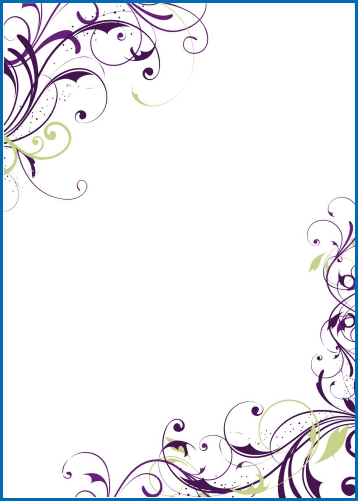 66 Standard Blank Invitation Templates For Microsoft Word Formating for Blank Invitation Templates For Microsoft Word
