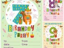 66 The Best Party Invitation Card Template Templates with Party Invitation Card Template