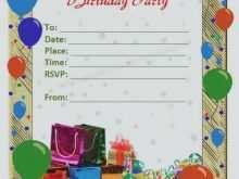 67 Best Blank Birthday Invitation Templates For Microsoft Word PSD File for Blank Birthday Invitation Templates For Microsoft Word
