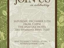 Formal Invitation Card Designs