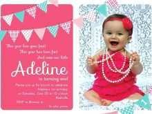 67 Customize Our Free Birthday Invitation Templates For 2 Years Old Girl With Stunning Design for Birthday Invitation Templates For 2 Years Old Girl