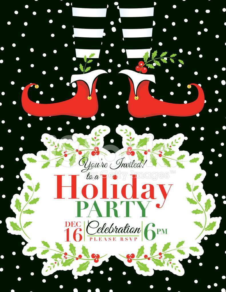 67 Online Christmas Party Invitation Template Maker for Christmas Party Invitation Template