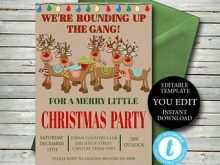 67 Printable Christmas Party Invitation Template Download in Photoshop by Christmas Party Invitation Template Download