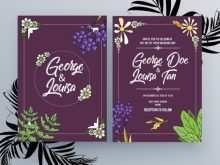 67 Report Adobe Illustrator Wedding Invitation Template Formating with Adobe Illustrator Wedding Invitation Template