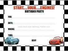 67 Standard Cars Birthday Invitation Template Free Templates with Cars Birthday Invitation Template Free