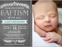 67 The Best Example Of Invitation Card For Christening For Free with Example Of Invitation Card For Christening