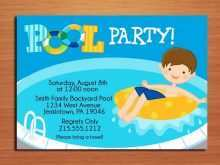 68 Creative Unicorn Pool Party Invitation Template Download with Unicorn Pool Party Invitation Template