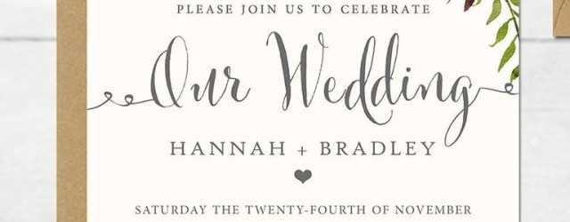 68 Customize 16 Printable Wedding Invitation Templates You Can Diy in Photoshop with 16 Printable Wedding Invitation Templates You Can Diy