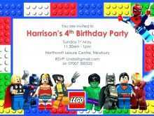 68 Format Birthday Invitation Template Lego Now for Birthday Invitation Template Lego