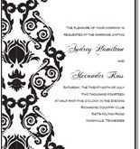 68 Free Printable Black And White Wedding Invitation Template PSD File for Black And White Wedding Invitation Template