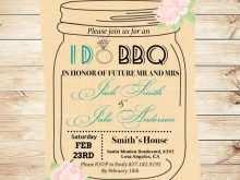 68 Printable Jar Wedding Invitation Template Download with Jar Wedding Invitation Template