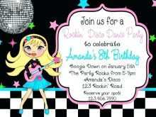 68 Visiting Dance Party Invitation Template Layouts with Dance Party Invitation Template