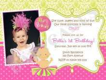 69 Adding Birthday Invitation Template For Baby Girl for Ms Word for Birthday Invitation Template For Baby Girl