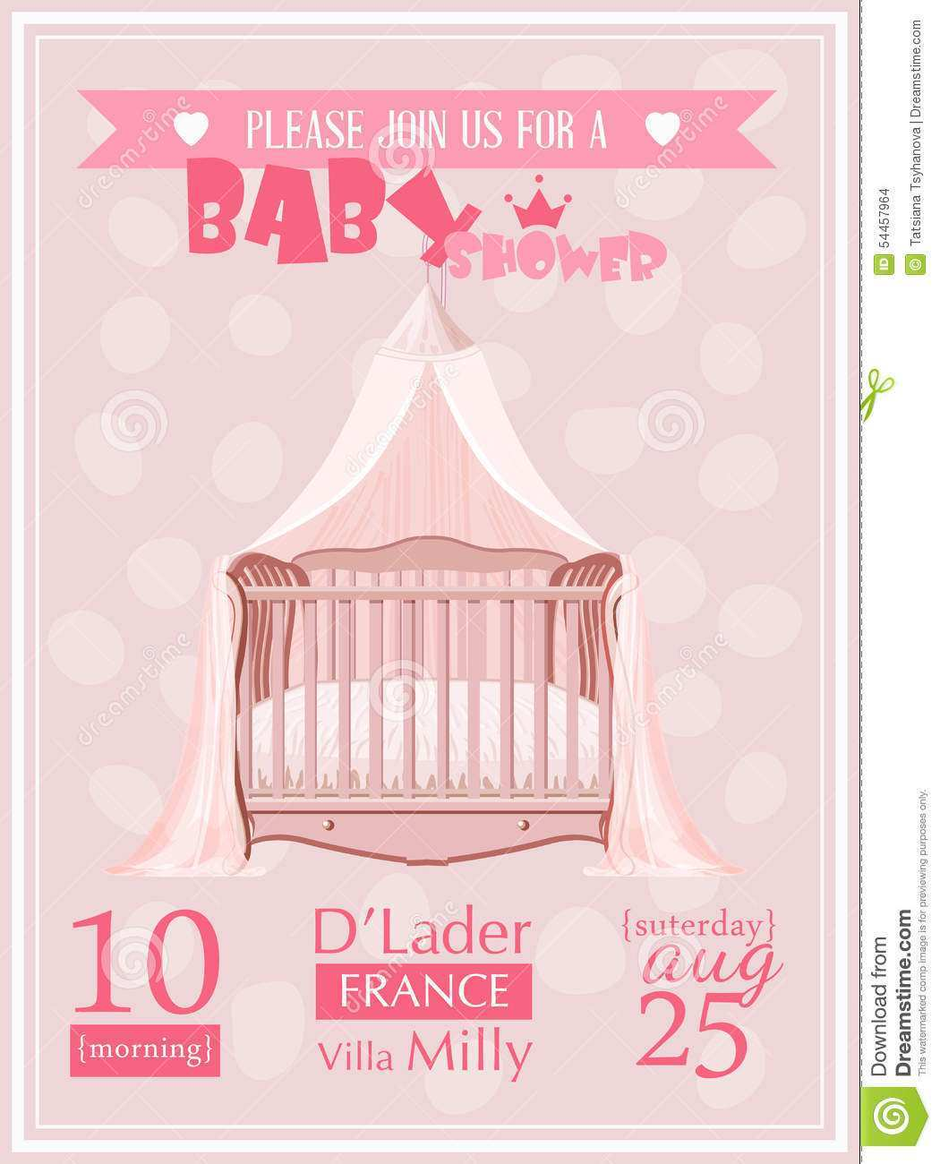 69 Create Baby Shower Invitation Template Vector in Word for Baby Shower Invitation Template Vector