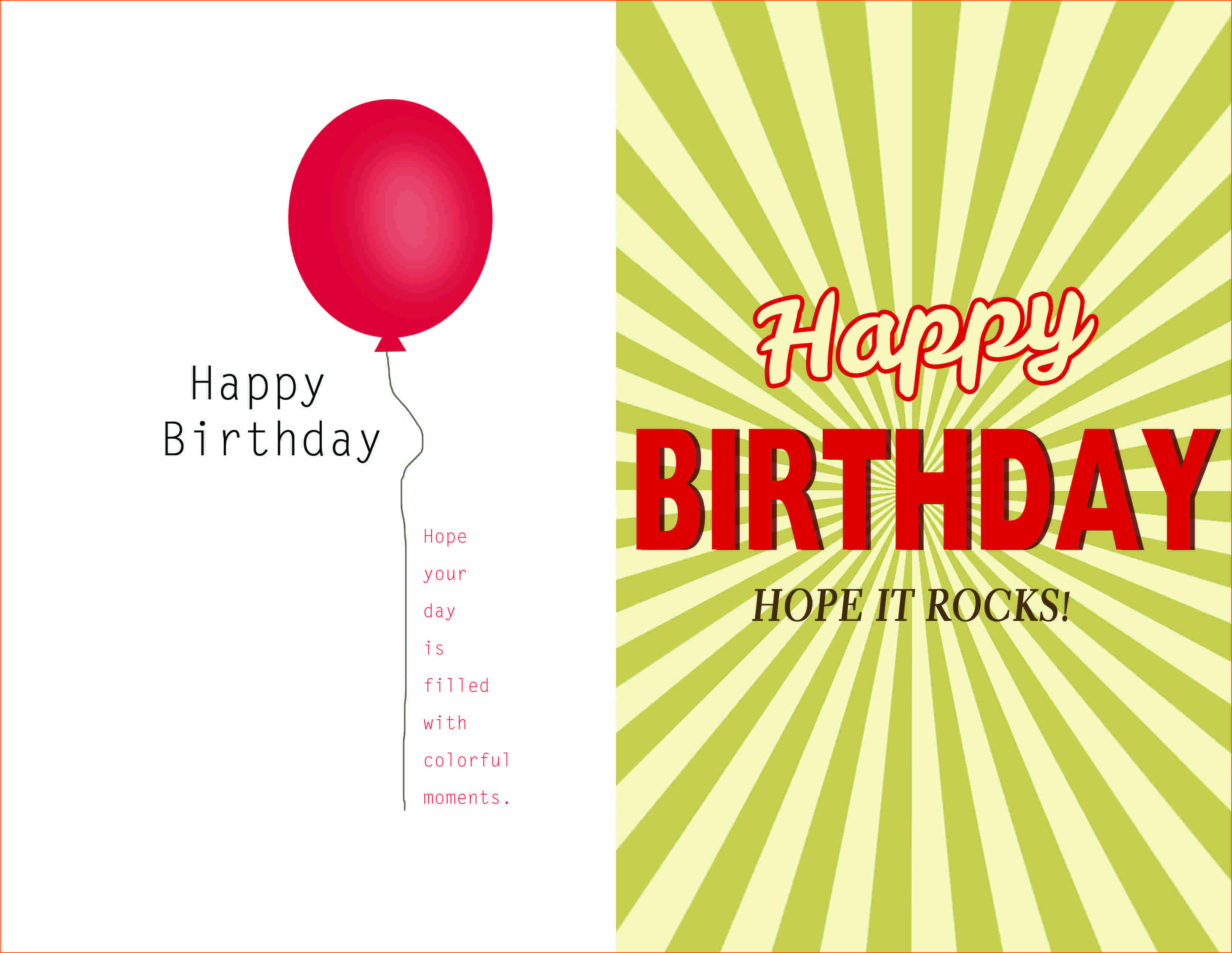 3 Create Birthday Invitation Template Quarter Fold For Free by