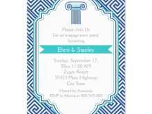 69 Customize Greek Party Invitation Template Layouts by Greek Party Invitation Template
