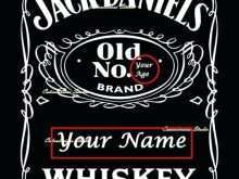 69 Format Jack Daniels Blank Invitation Template With Stunning Design by Jack Daniels Blank Invitation Template