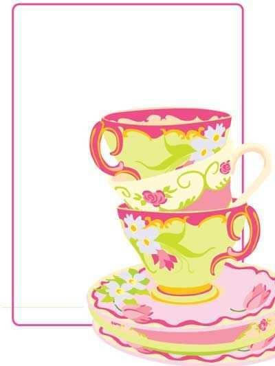 69 Free Afternoon Tea Invitation Template Blank PSD File with Afternoon Tea Invitation Template Blank