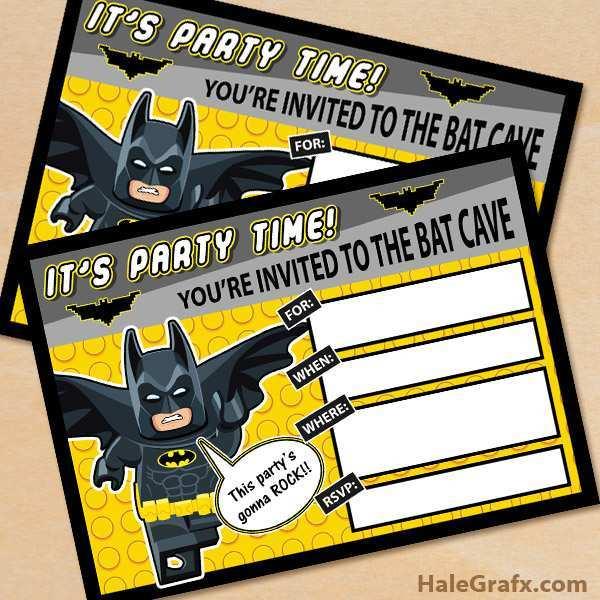 69 Free Printable Blank Lego Invitation Template Formating by Blank Lego Invitation Template