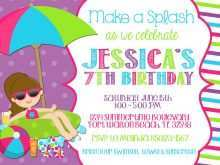 Party Invitation Website Template