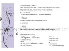 69 Online Reception Invitation Card Format India in Word with Reception Invitation Card Format India