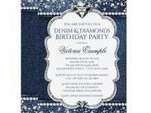 70 Adding Denim Party Invitation Template Photo for Denim Party Invitation Template