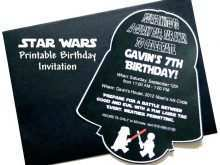 70 Adding Star Wars Birthday Invitation Template Now for Star Wars Birthday Invitation Template