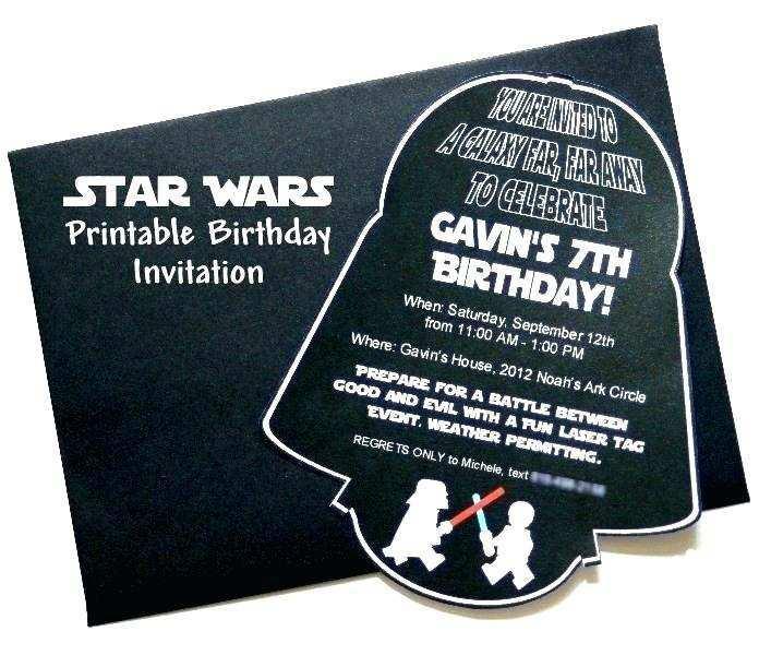 70 Adding Star Wars Birthday Invitation Template Now for Star Wars Birthday Invitation Template