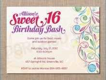 70 Best Birthday Invitation Template Simple Download for Birthday Invitation Template Simple