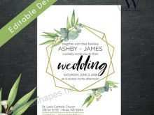 70 Blank Wedding Invitation Template Eucalyptus Formating with Wedding Invitation Template Eucalyptus
