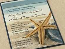 70 Creating Beach Wedding Invitation Template With Stunning Design for Beach Wedding Invitation Template