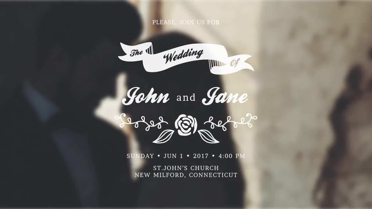 70 Creative After Effect Wedding Invitation Template Layouts by After Effect Wedding Invitation Template