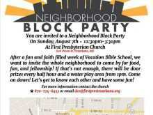 70 Customize Our Free Block Party Invitation Template Maker with Block Party Invitation Template