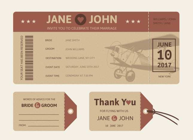 70 Customize Wedding Invitation Ticket Template Vector Free Download in Photoshop by Wedding Invitation Ticket Template Vector Free Download