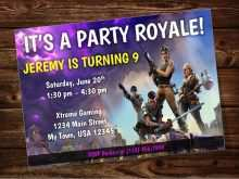 70 How To Create Fortnite Birthday Invitation Template With Stunning Design for Fortnite Birthday Invitation Template
