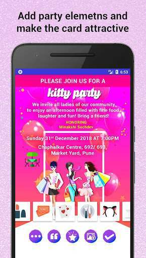 70 Printable Party Invitation Card Maker App for Ms Word with Party Invitation Card Maker App