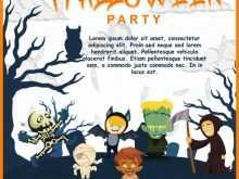 70 Report Birthday Invitation Template Halloween Now for Birthday Invitation Template Halloween