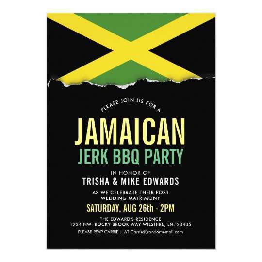 70 Standard Jamaican Party Invitation Template Layouts with Jamaican Party Invitation Template