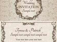 70 The Best Invitation Card Samples Vector With Stunning Design by Invitation Card Samples Vector