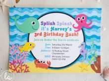 70 The Best Under The Sea Birthday Invitation Template Free in Word by Under The Sea Birthday Invitation Template Free