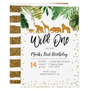 70 Visiting Birthday Invitation Templates Wild One Layouts for Birthday Invitation Templates Wild One