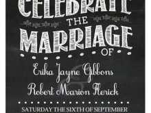 71 Best Chalkboard Wedding Invitation Template Free Templates by Chalkboard Wedding Invitation Template Free