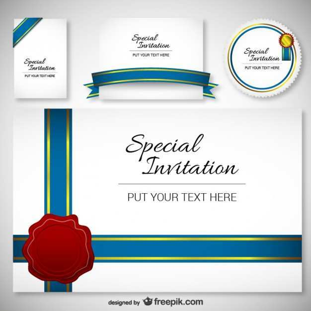 71 Creating Invitation Card Template Vector Free Download in Word by Invitation Card Template Vector Free Download