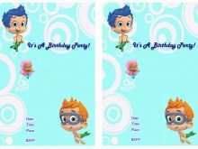 71 How To Create Bubble Guppies Blank Invitation Template Layouts for Bubble Guppies Blank Invitation Template