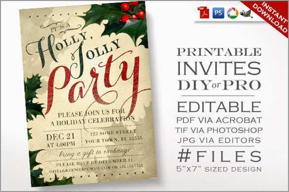 71 How To Create Elegant Christmas Party Invitation Template Free Download for Ms Word for Elegant Christmas Party Invitation Template Free Download
