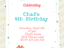 71 Online Birthday Party Invitation Template Photo with Birthday Party Invitation Template