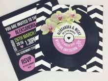 71 Online Vinyl Record Wedding Invitation Template PSD File with Vinyl Record Wedding Invitation Template
