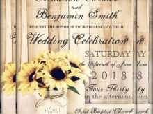 71 Printable Jar Wedding Invitation Template Photo for Jar Wedding Invitation Template