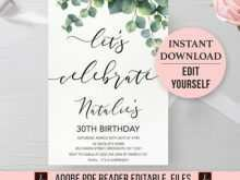 71 Visiting Adults Birthday Invitation Template PSD File with Adults Birthday Invitation Template